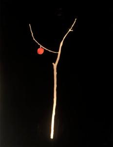 """""""L'albero dei baci""""  130x100cm opera retroilluminata marzo 2008"""