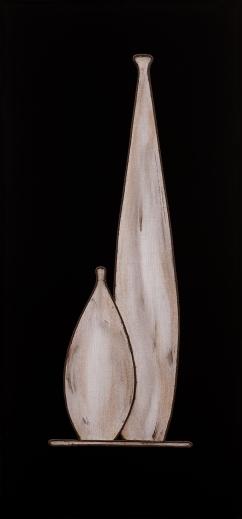 André Che Isse Il vasaio degli dèi per il V tavolinetto della regina Hatshepshut opera retroilluminataFS3_2790 2